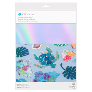 Silhouette Sticker Paper - Holographic - Swing Design