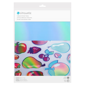 Silhouette Sticker Paper - Iridescent - Swing Design