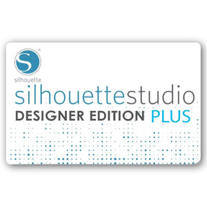 Silhouette Studio to Designer Edition PLUS Upgrade - Physical Card - Swing Design