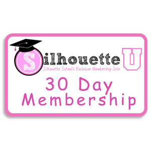 Silhouette U 30 Day Membership - Swing Design