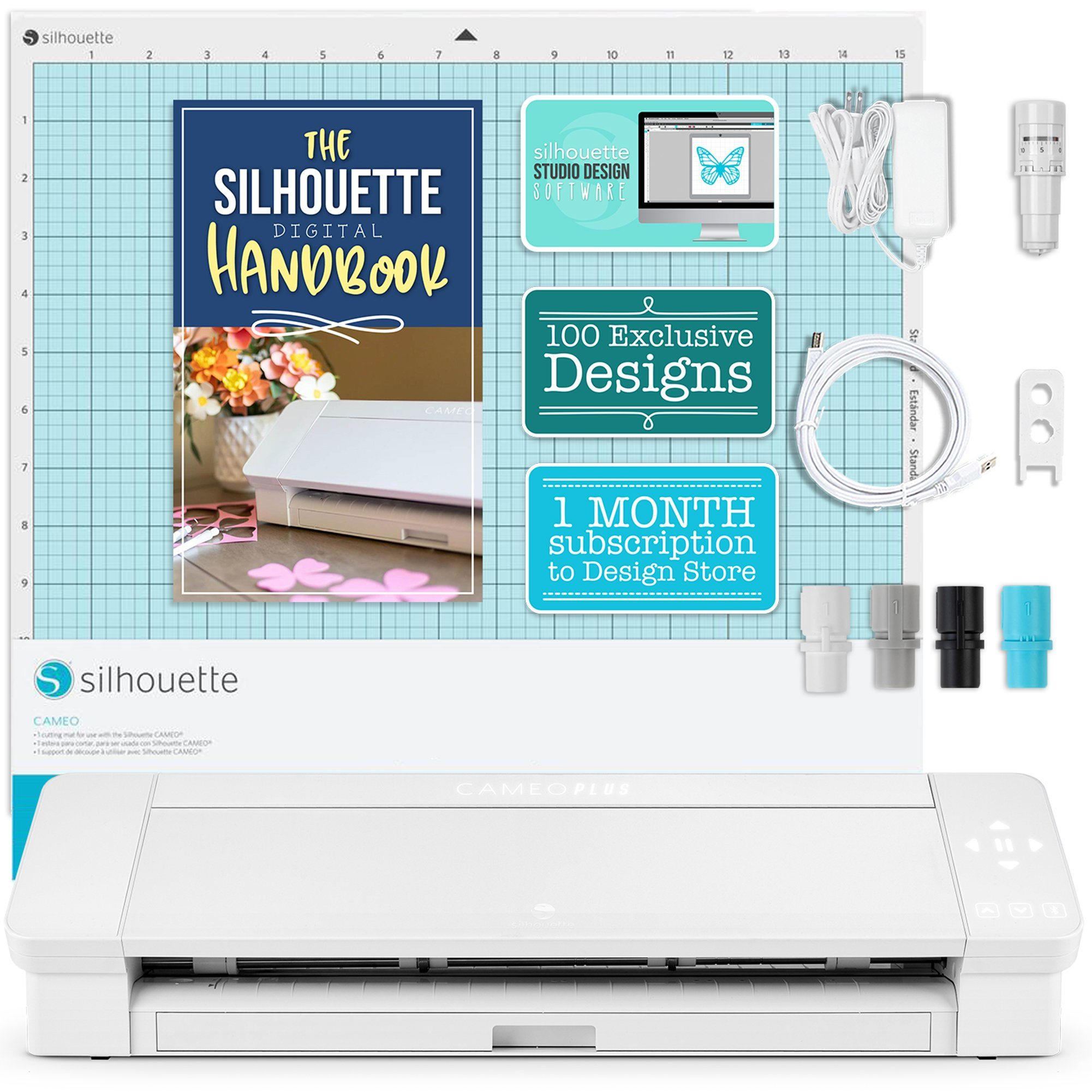 Silhouette Cameo 4 Plus cutting machine for fabrics