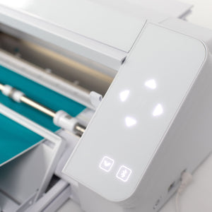 Silhouette White Cameo 4 w/ Updated Autoblade, 3x Speed, Roll Feeder, and More Silhouette Bundle Silhouette