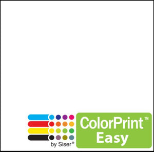 "Siser ColorPrint Easy Print and Cut Heat Transfer Vinyl (HTV) - 20"" x 150 FT Siser Heat Transfer Siser"