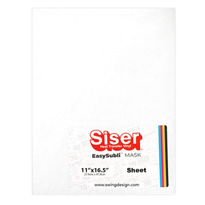 "Siser EasySubli Heat Resistant Transfer Sheets 11"" x 16.5"" – Sheet Sublimation Siser"