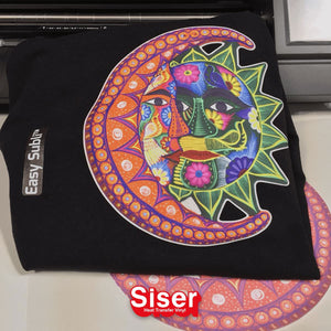 "Siser EasySubli Sublimation Heat Transfer Vinyl 8.4"" x 11"" - 50 Pack - Swing Design"