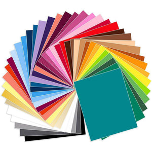 "Siser EasyWeed Heat Transfer All Colors Bundle 39 Sheets - 15"" x 12"" - Swing Design"
