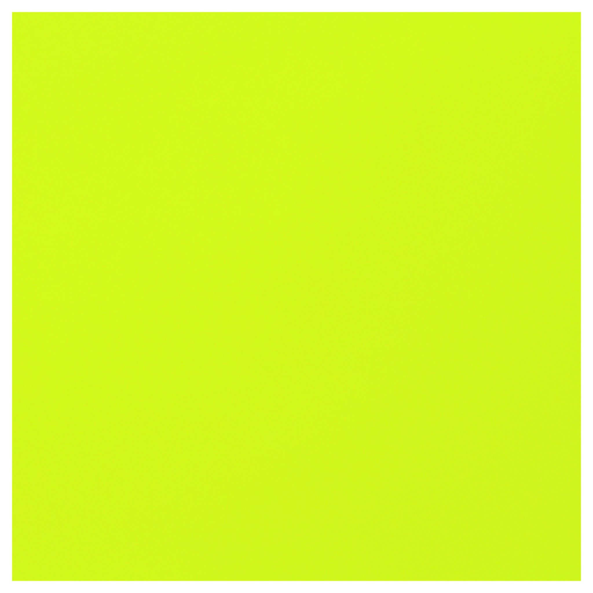 Heat Transfer Vinyl Press HTV 10 x 5 Yards. Neon Yellow