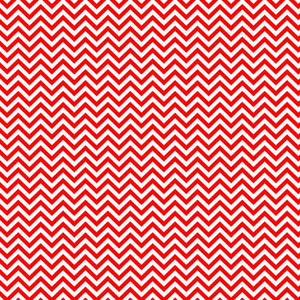 "Siser Easyweed Patterned 18"" x 12"" Sheet - Chevron Red - Swing Design"