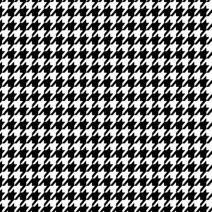 "Siser Easyweed Patterned 18"" x 12"" Sheet - Houndstooth - Swing Design"