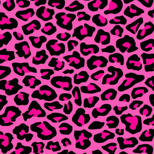 "Siser Easyweed Patterned 18"" x 12"" Sheet - Leopard Pink - Swing Design"