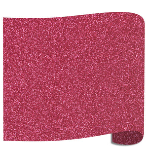 "Siser Glitter Heat Transfer Vinyl (HTV) 20"" x 12"" Sheet - 45 Colors Siser Heat Transfer Siser Blush"