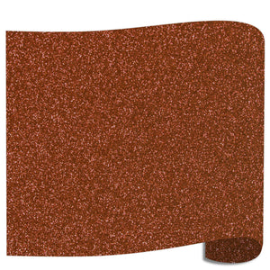 "Siser Glitter Heat Transfer Vinyl (HTV) 20"" x 12"" Sheet - 45 Colors Siser Heat Transfer Siser Bronze"