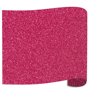 "Siser Glitter Heat Transfer Vinyl (HTV) 20"" x 12"" Sheet - 45 Colors Siser Heat Transfer Siser Cherry"