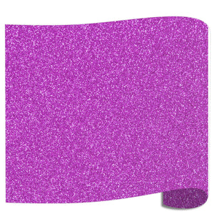 "Siser Glitter Heat Transfer Vinyl (HTV) 20"" x 12"" Sheet - 45 Colors Siser Heat Transfer Siser Lavender"