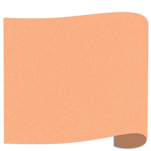 "Siser Glitter Heat Transfer Vinyl (HTV) 20"" x 12"" Sheet - 45 Colors Siser Heat Transfer Siser Neon Orange"