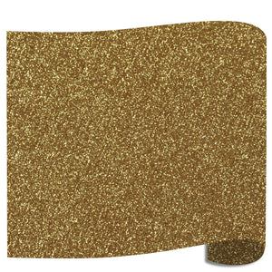 "Siser Glitter Heat Transfer Vinyl (HTV) 20"" x 12"" Sheet - 45 Colors Siser Heat Transfer Siser Old Gold"