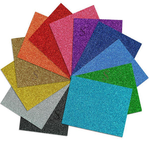 "Siser Glitter Heat Transfer Vinyl (HTV) - 50 Sheets - Build a Bundle, 20"" x 12"" - Swing Design"