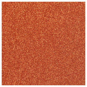Siser Glitter Heat Transfer Vinyl (HTV) - Copper - Swing Design