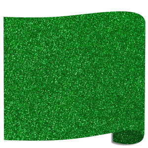 Siser Glitter Heat Transfer Vinyl (HTV) - Green (Grass) - Swing Design