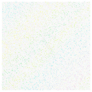 Siser Glitter Heat Transfer Vinyl (HTV) - Rainbow White - Swing Design