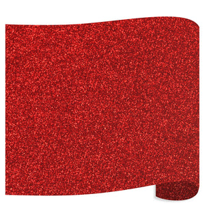 Siser Glitter Heat Transfer Vinyl (HTV) - Red - Swing Design