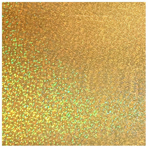 Siser Holographic Heat Transfer Vinyl (HTV) - Gold - Swing Design