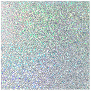 Siser Holographic Heat Transfer Vinyl (HTV) - Silver - Swing Design