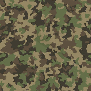 "Siser Patterned Heat Transfer Vinyl (HTV) - ""Army Camo"" - Swing Design"