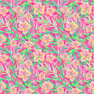 "Siser Patterned Heat Transfer Vinyl (HTV) - ""Tropic Dream Pink"" - Swing Design"