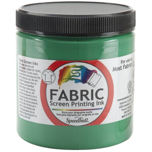 Speedball 8 oz Fabric Screen Printing Ink - Green - Swing Design