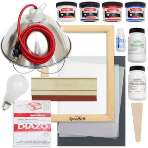 Speedball Emulsion Screen Printing Bundle - Swing Design