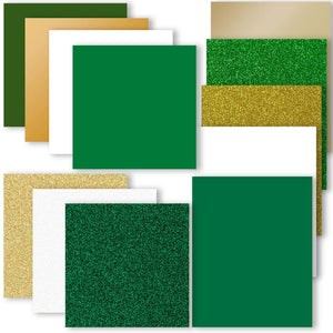 St. Patrick's Day Vinyl & Heat Transfer Starter Pack - 12 Sheets - Swing Design