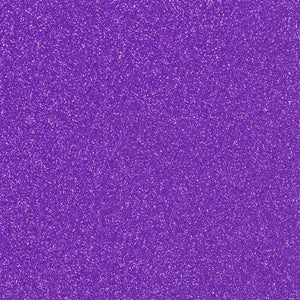 StyleTech Glitter Glossy Permanent Vinyl - Purple - Swing Design