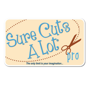 Sure Cuts A Lot Software Instant Code - Version 5 PRO - Swing Design