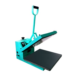"Swing Design 15"" x 15"" Craft Heat Press - Turquoise Heat Press Swing Design"