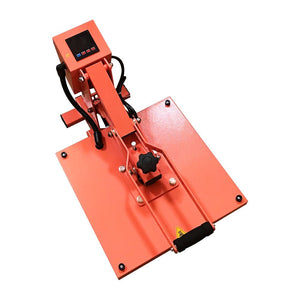"Swing Design 15"" x 15"" PRO Slide Out Heat Press - Coral Heat Press Swing Design"