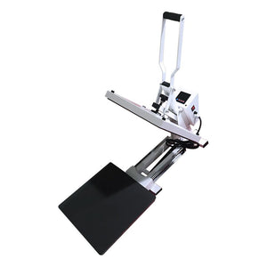 "Swing Design 15"" x 15"" PRO Slide Out Heat Press - White Heat Press Swing Design"