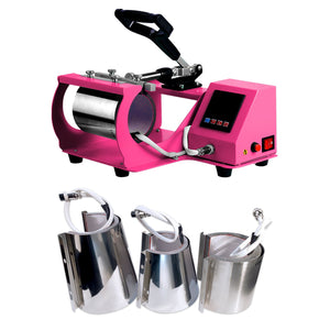 Swing Design 4-in-1 Mug, Cup, & Bottle Heat Press - Pink Heat Press Swing Design