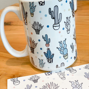 Swing Design Digital Coffee Mug & Cup Heat Press - White Heat Press Swing Design