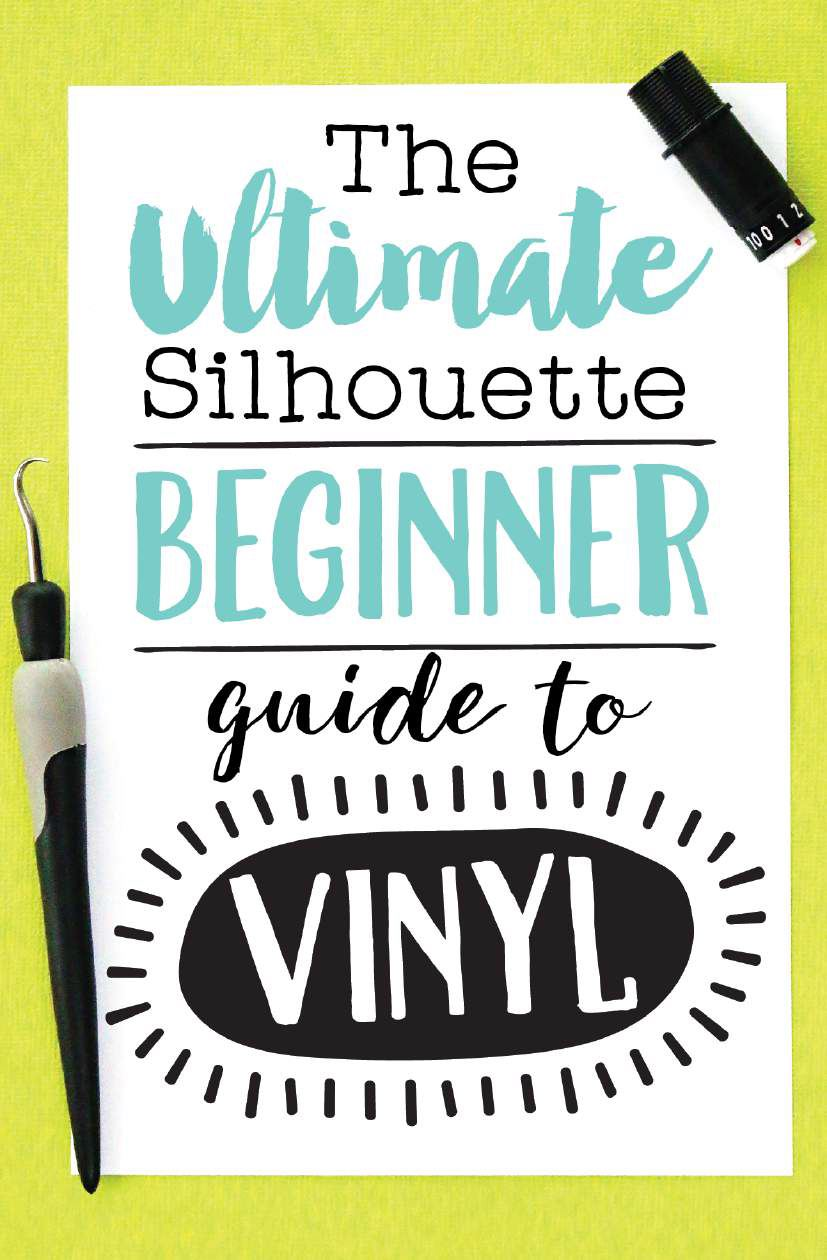 The Ultimate Silhouette Beginner Guide To Vinyl By
