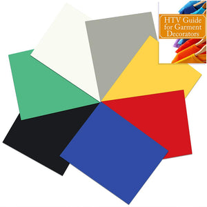 UltraLite Heat Transfer Vinyl (HTV) Vinyl Starter Pack - Thinner than Easyweed - Swing Design