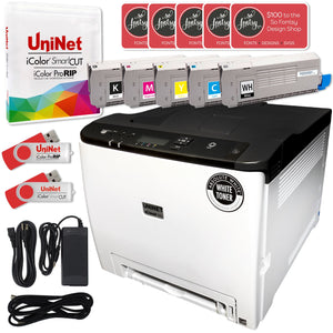 Uninet IColor 560 Digital Color & White Transfer Printer Bundle w/ $695 Software Sublimation Bundle UniNET
