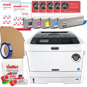 Uninet IColor 650 Business Bundle w/ Hotronix Heat Press, Media, $695 Software Sublimation Bundle UniNET