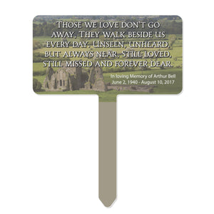 "Unisub Blank Yard Signs & Garden Stakes - Rectangle / 7.75"" x 10"" Sublimation Unisub"