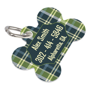 Unisub Sublimation Bone Pet Tag Blanks - 2-Sided - 4738 - Swing Design