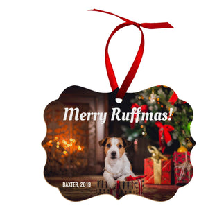 Unisub Sublimation Ornament Blanks - Benelux w/ Ribbon - 4839 - Swing Design