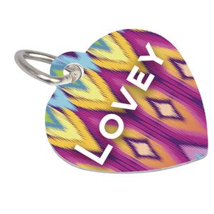 Unisub Sublimation Heart Pet Tag Blanks - 2-Sided - 4737 - Swing Design