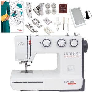 USED Bernette B35 Sewing Machine Bundle Brother Sewing Bundle Bernette