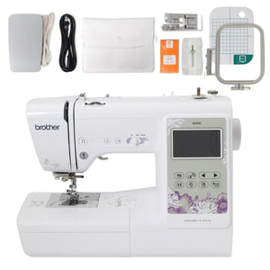 USED Brother SE600 Sewing and Embroidery Machine Brother Sewing Bundle Brother