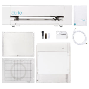 USED Silhouette Curio Digital Crafting Machine Silhouette Bundle Silhouette